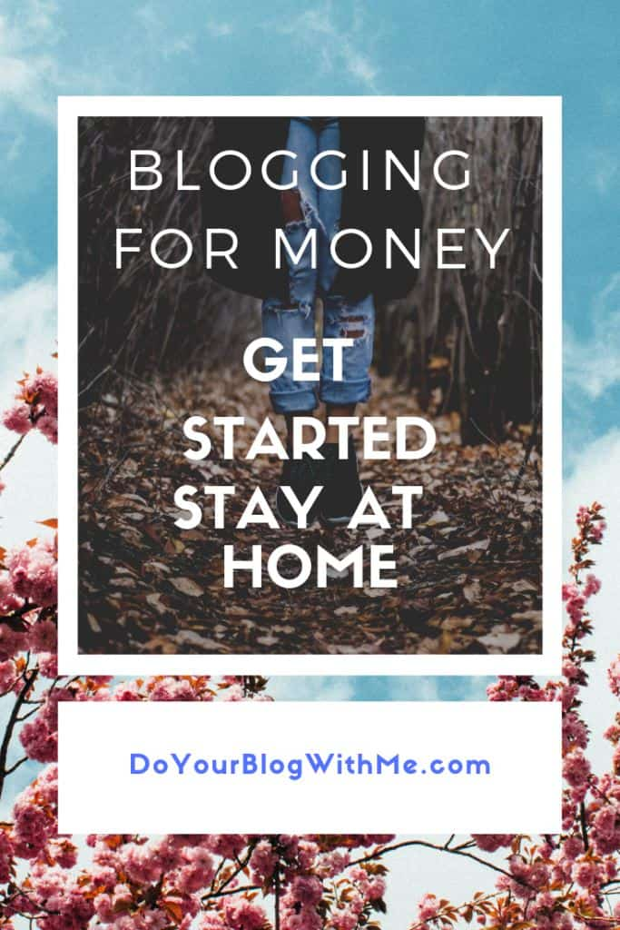 Blogging for money stay at home, get started now here you will lean the 5 simple easy steps to start blogging in an hour #blogging #BloggingTips #WordPress