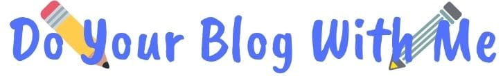 Do your blog with me