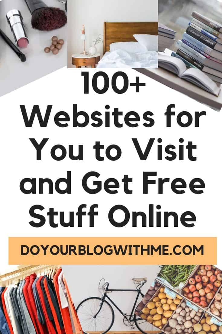 get frees stuff online