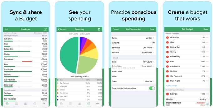 paying debt fast by using good budget app