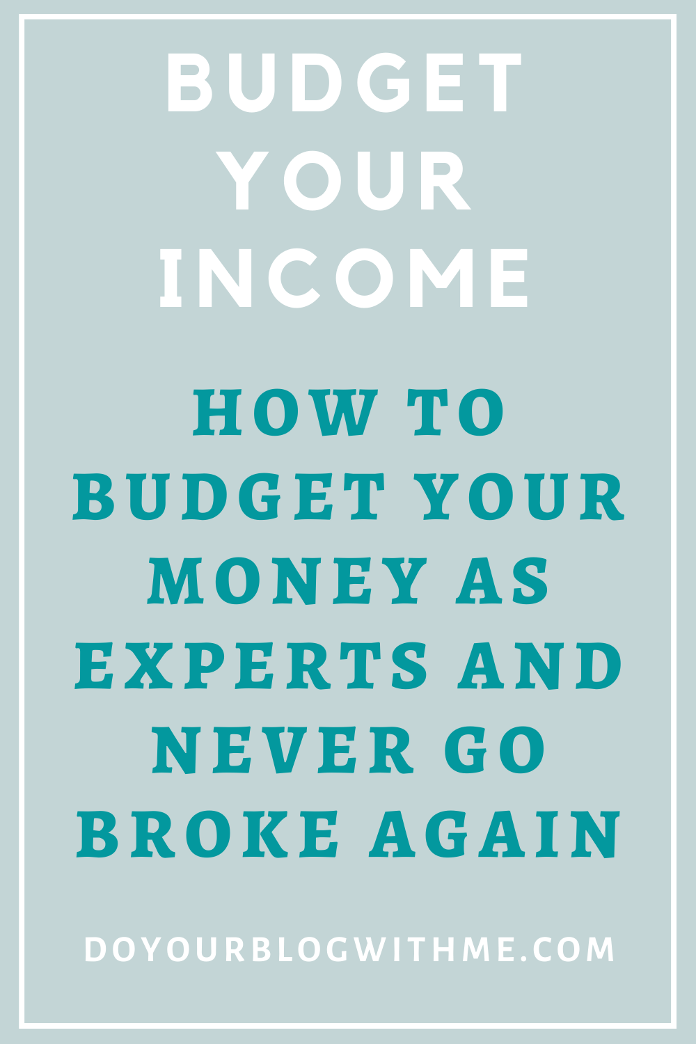 how to budget your family income as experts and never go broke